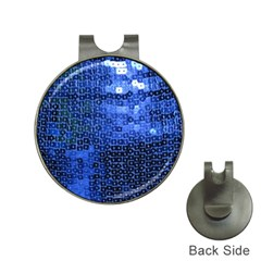 Blue Sequins Hat Clips With Golf Markers by boho