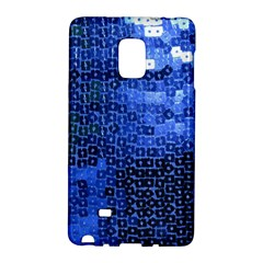 Blue Sequins Galaxy Note Edge by boho