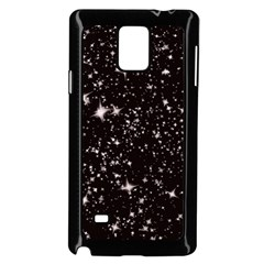 Black Stars Samsung Galaxy Note 4 Case (black) by boho