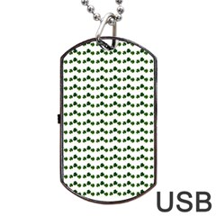 Shamrock Dog Tag Usb Flash (two Sides) by boho