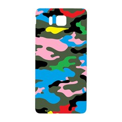 Rainbow Camouflage Samsung Galaxy Alpha Hardshell Back Case by boho