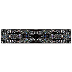 Black Diamonds Flano Scarf (small) by boho
