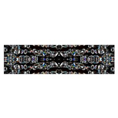 Black Diamonds Satin Scarf (oblong) by boho