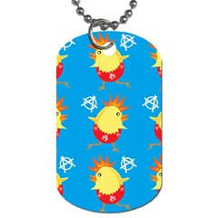 Easter Chick Dog Tag (one Side) by boho