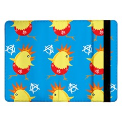 Easter Chick Samsung Galaxy Tab Pro 12 2  Flip Case by boho