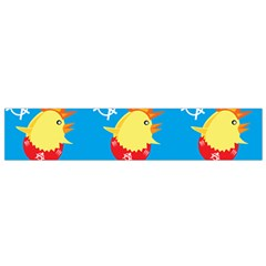 Easter Chick Flano Scarf (small) by boho