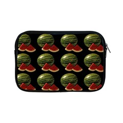 Black Watermelon Apple Ipad Mini Zipper Cases by boho