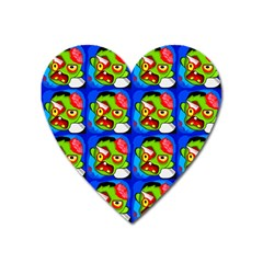 Zombies Heart Magnet by boho