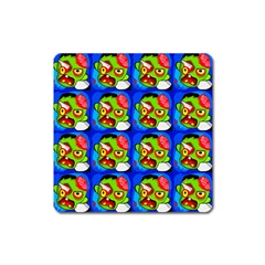 Zombies Square Magnet by boho
