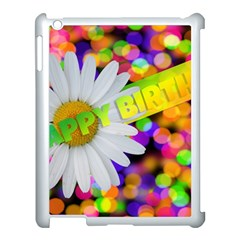 Happy Birthday Apple Ipad 3/4 Case (white) by boho
