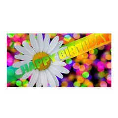 Happy Birthday Satin Wrap by boho