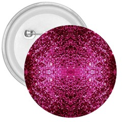 Pink Glitter 3  Buttons by boho