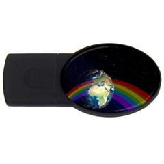 Earth Usb Flash Drive Oval (2 Gb) by boho