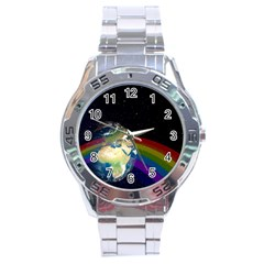 Earth Stainless Steel Analogue Watch by boho