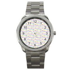 Bicycles Sport Metal Watch by boho