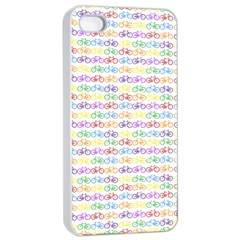 Bicycles Apple Iphone 4/4s Seamless Case (white) by boho
