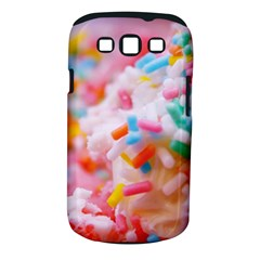 Birthday Cake Samsung Galaxy S Iii Classic Hardshell Case (pc+silicone) by boho