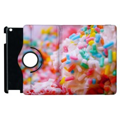 Birthday Cake Apple Ipad 2 Flip 360 Case by boho