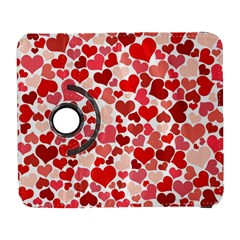 Red Hearts Galaxy S3 (flip/folio) by boho