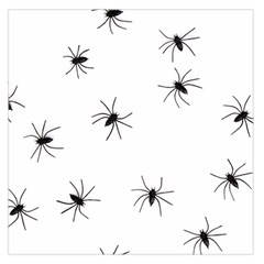 Spiders Large Satin Scarf (square) by boho