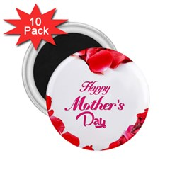 Happy Mothers Day 2 25  Magnets (10 Pack)  by boho
