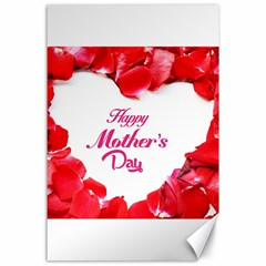 Happy Mothers Day Canvas 24  X 36  by boho