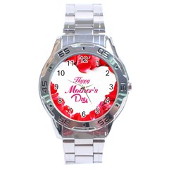 Happy Mothers Day Stainless Steel Analogue Watch by boho