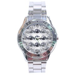 Disco Balls Stainless Steel Analogue Watch by boho