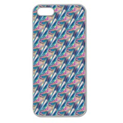 Holographic Hologram Apple Seamless Iphone 5 Case (clear) by boho