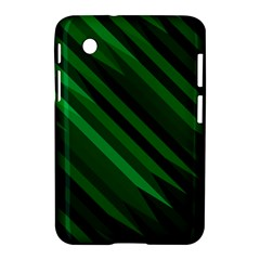 Abstract Blue Stripe Pattern Background Samsung Galaxy Tab 2 (7 ) P3100 Hardshell Case