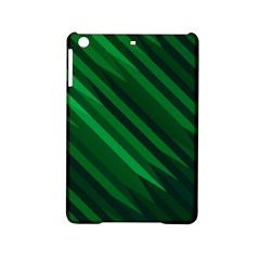 Abstract Blue Stripe Pattern Background Ipad Mini 2 Hardshell Cases