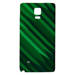 Abstract Blue Stripe Pattern Background Galaxy Note 4 Back Case