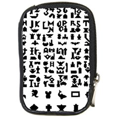 Anchor Puzzle Booklet Pages All Black Compact Camera Cases