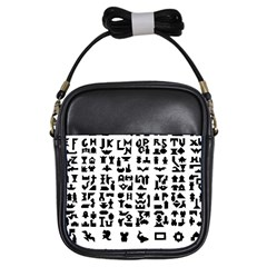 Anchor Puzzle Booklet Pages All Black Girls Sling Bags by Simbadda