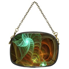 Art Shell Spirals Texture Chain Purses (one Side)  by Simbadda