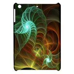 Art Shell Spirals Texture Apple Ipad Mini Hardshell Case by Simbadda
