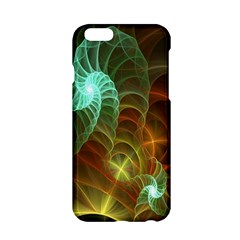 Art Shell Spirals Texture Apple Iphone 6/6s Hardshell Case by Simbadda