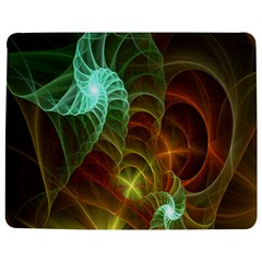 Art Shell Spirals Texture Jigsaw Puzzle Photo Stand (rectangular) by Simbadda