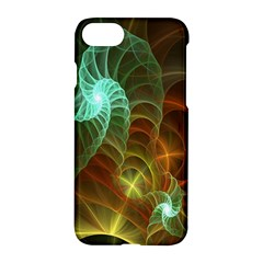Art Shell Spirals Texture Apple Iphone 7 Hardshell Case by Simbadda