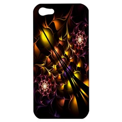 Art Design Image Oily Spirals Texture Apple Iphone 5 Hardshell Case