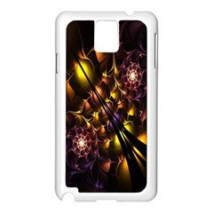 Art Design Image Oily Spirals Texture Samsung Galaxy Note 3 N9005 Case (white) by Simbadda