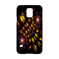 Art Design Image Oily Spirals Texture Samsung Galaxy S5 Hardshell Case  by Simbadda