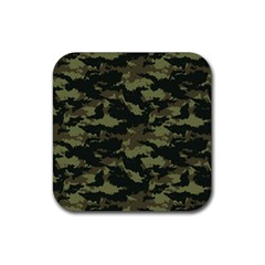 Camo Pattern Rubber Coaster (square)