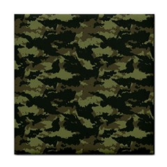 Camo Pattern Face Towel