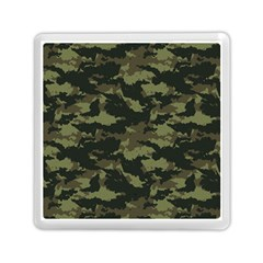 Camo Pattern Memory Card Reader (square)