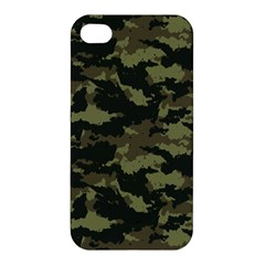 Camo Pattern Apple Iphone 4/4s Premium Hardshell Case by Simbadda