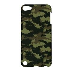 Camo Pattern Apple Ipod Touch 5 Hardshell Case by Simbadda