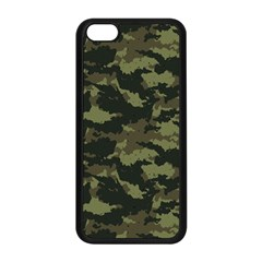 Camo Pattern Apple Iphone 5c Seamless Case (black) by Simbadda