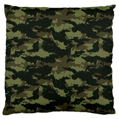 Camo Pattern Standard Flano Cushion Case (one Side) by Simbadda