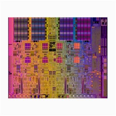 Circuit Board Pattern Lynnfield Die Small Glasses Cloth